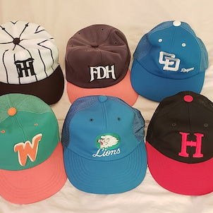懐かしの・・プロ野球の帽子の画像