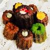 カヌレのバースデーケーキの画像