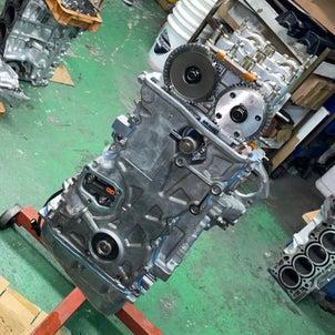 DC5,K20A改K21R、エンジン組付け♫、形になりました、格好良いですよね~の画像