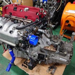DC5,K20A改K21R、エンジン完成からの搭載準備まで一気にいけーの画像