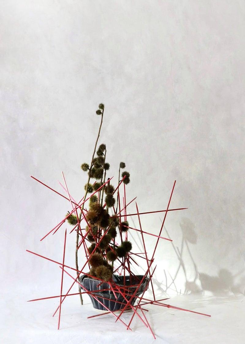 草月流いけばな 栗生け花 寺本真理 いけばな 鎌ケ谷市 フラワーアレンジメント教室 オーダーアレンジメント レンタルフラワー