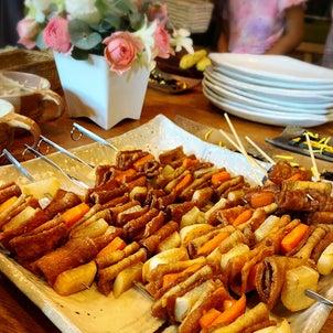 【サロンレポ】今月のパーティはロシア料理!ピロシキにシシャリク♪の画像