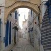 チュニジア旅行②古代都市遺跡とヨーロッパのような美しい街シディ・ブ・サイドの画像