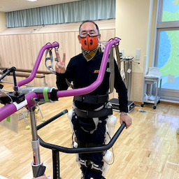 画像 ロボットスーツ「HAL」リハビリ入院 day1 の記事より 2つ目