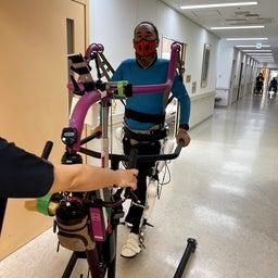 画像 ロボットスーツ「HAL」リハビリ入院 day2 の記事より 3つ目