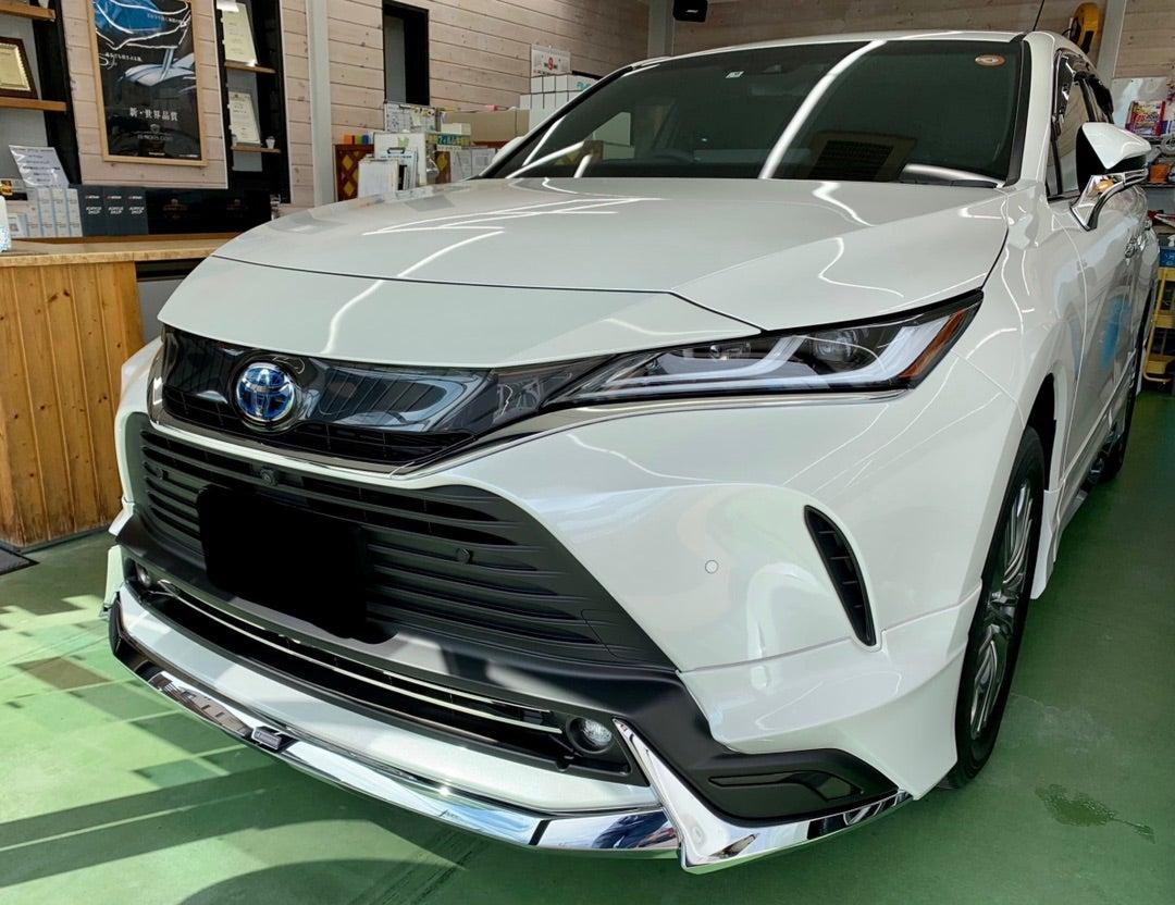 トヨタ ハリアー新車 リアルガラスコートclassM施工