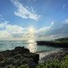 沖縄旅8・絶景サンセット@残波岬の画像