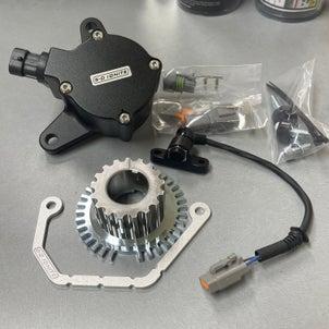 5-0IGNITE社製新製品はB型クランク角センサー,B18C改B19R製作、腰下組付け開始ね。の画像
