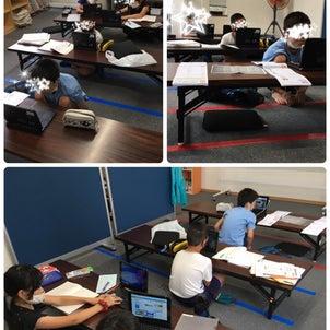 分散登校とオンライン授業+おでかけの画像