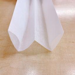 画像 クッキングシート舟形の折り方 の記事より 8つ目