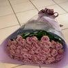 ライラッククラシックの花束の画像