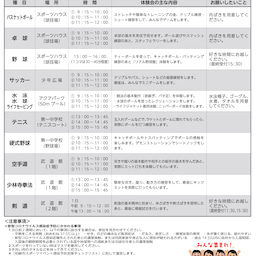 画像 柏崎スポーツフェスティバル2021 の記事より 5つ目