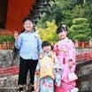 Aちゃん&Eちゃん☆中山寺で七五三の記念撮影