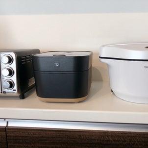 スタイリッシュな炊飯器♡の画像