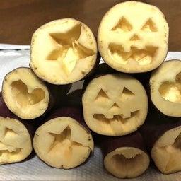 画像 食育教室 サツマイモで・・・ぺったん。 の記事より 4つ目