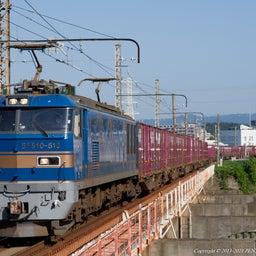 画像 2021.10.3 4070レ EF510 515 吹田-神崎川(信) の記事より 1つ目