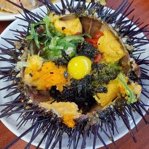 ついに食べれた雲丹ご飯とカンジャンケジャンの画像