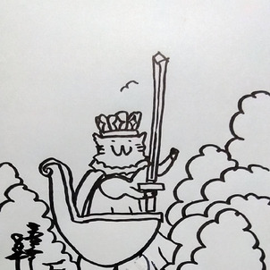 #タロットカード #ソードのクイーンの画像