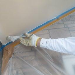 画像 日立市 外壁塗装屋根塗装A様邸 軒天塗装 富士塗装店 の記事より 2つ目