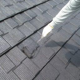 画像 日立市 外壁塗装屋根塗装A様邸 屋根上塗り塗装 富士塗装店 の記事より 1つ目