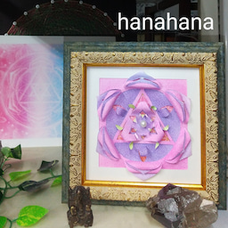 画像 ガネーシャヤントラの華花曼荼羅 の記事より 1つ目