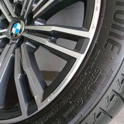 画像 アルミホイール 修理 福岡 BMW ガリキズ 修復 の記事より 7つ目