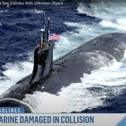 """画像 短報:南シナ海で米原潜が""""USO""""と衝突? の記事より 1つ目"""