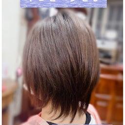 画像 #軽いレイヤーウルフ #アレルギーのないヘアカラー #ショートから #伸ばしていきたい   の記事より 1つ目
