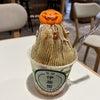 【茶寮 伊藤園】で秋限定のモンブランソフトクリームの画像