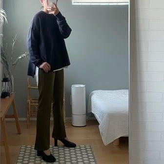 《ママにうれしい美脚パンツ》みなさんのおかげで少し変わります!
