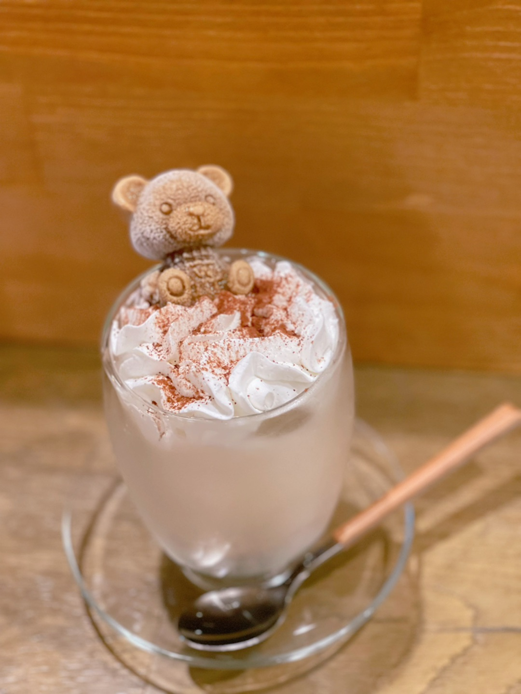 お次は、「くまちゃん」のカフェ。