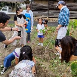 画像 丹波で黒豆の収穫祭! の記事より 4つ目