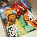 お届け物♡お菓子たくさん(•‿•)