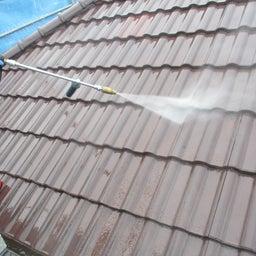 画像 ひたちなか市 外壁塗装屋根塗装G様邸 塗装前水洗い 富士塗装店 の記事より 3つ目