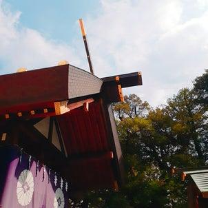 休日の神社仏閣巡り(久々嬉しい)【東京大神宮編】の画像