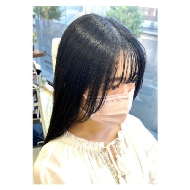 小顔前髪に欠かせない髪質改善プレミアムトリートメント!