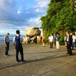 画像 9月18日、愛媛県松山市の白石の鼻巨石群シンポジウムで講演しました の記事より 6つ目