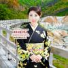 昨日のお着物 北海道で初雪!美肌で開運♡銀座のママ今週のパワースポット巡りの画像