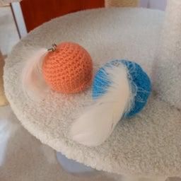 画像 手編みのおもちゃボール の記事より 2つ目