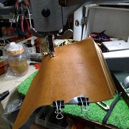 画像 グローブ革の手作り革小物コーナー の記事より 4つ目