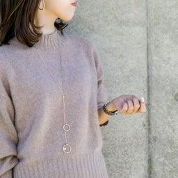 画像 いよいよ秋冬本番!ニットに合うロングネックレスを集めてみました! の記事より 4つ目
