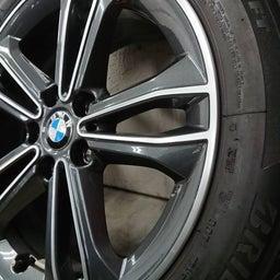 画像 アルミホイール 修理 福岡 BMW ガリキズ 修復 の記事より 6つ目