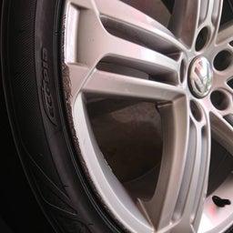 画像 アルミホイール 修理 福岡 VW ガリキズ 修復 の記事より 3つ目