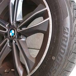 画像 アルミホイール 修理 福岡 BMW ガリキズ 修復 の記事より 5つ目