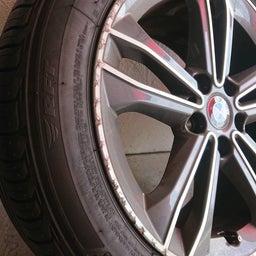 画像 アルミホイール 修理 福岡 BMW ガリキズ 修復 の記事より 3つ目