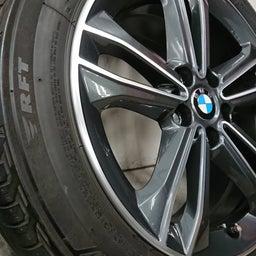 画像 アルミホイール 修理 福岡 BMW ガリキズ 修復 の記事より 4つ目