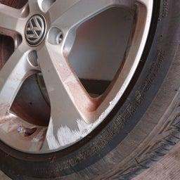 画像 アルミホイール 修理 福岡 VW ガリキズ 修復 の記事より 7つ目