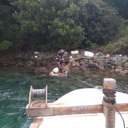 画像 牛深の漁師さんたちの環境保全協議会による海ゴミ回収~ の記事より 2つ目