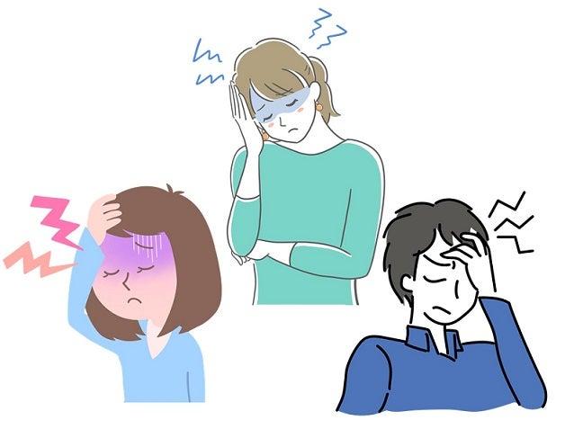 片頭痛・緊張型頭痛・群発頭痛