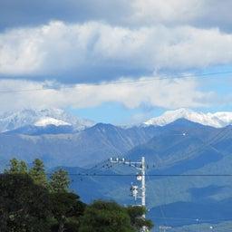 画像 10/20南アルプスに雪が の記事より 3つ目